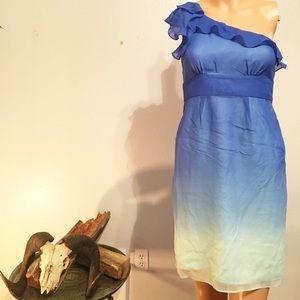Ombré Royal Blue Dress